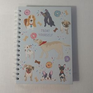 Dog Lover Notebook Paper Hard Cover